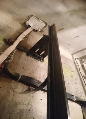 Задание на проектирование строительной части лифтов.